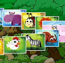 Play Animal Memory Deluxe Game