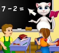 Play Angela School Teacher Game