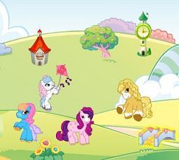 Play Ponyland Decoration Game