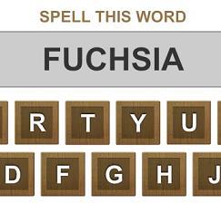 Play Spelling Words Game