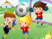 Play Football Kids Jigsaw Game