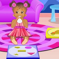 Play Baby Daisy Learning Shapes Game
