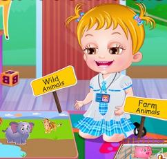 Play Baby Hazel Learns Animals Game