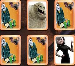 Play Memory Cards Hotel Transylvania Game
