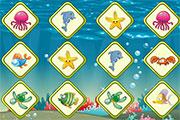 Play Sea Fish Memory Game