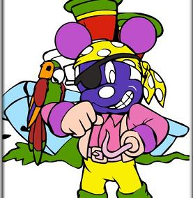 Play Pirate Mickey Coloring Game