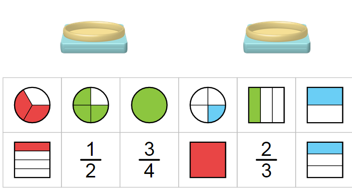 Play Fraction Matcher Game