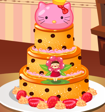 Play Babys first cake Game