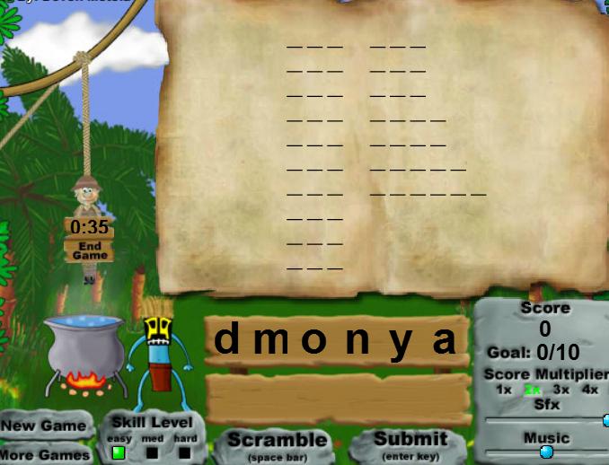 Play Alphabet Jungle Game