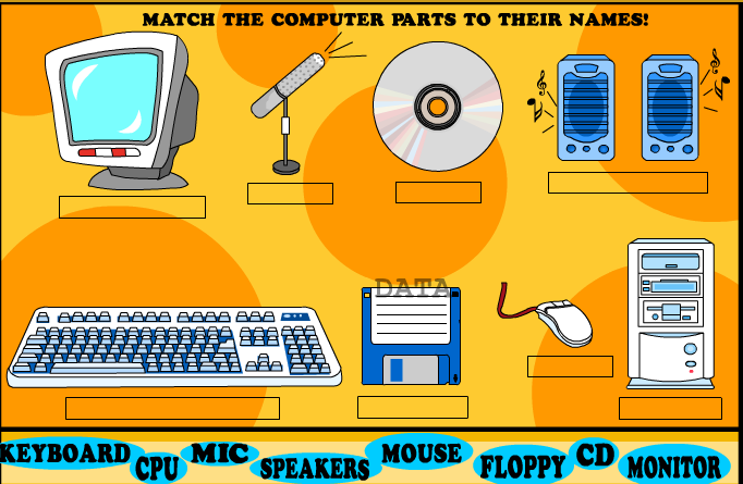 Play Computer Word Match Game