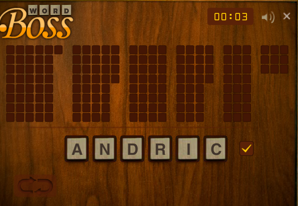 Play Word Boss Game