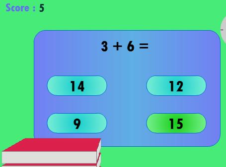 Play Math Test Game