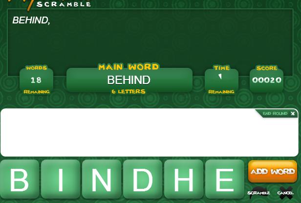 Play Alphabits Scramble Game