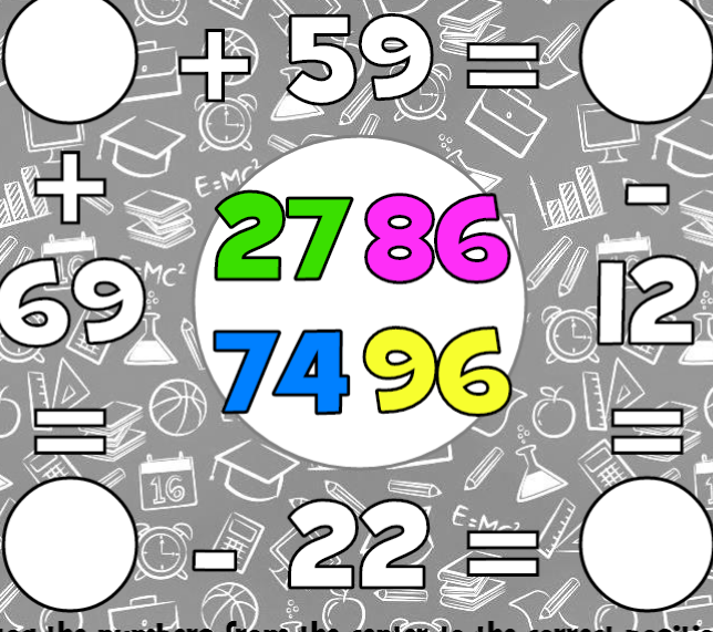 Play Math Square Puzzle Game