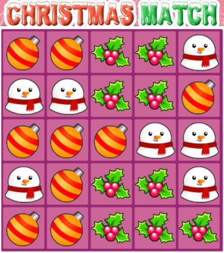 Play Christmas Match Game