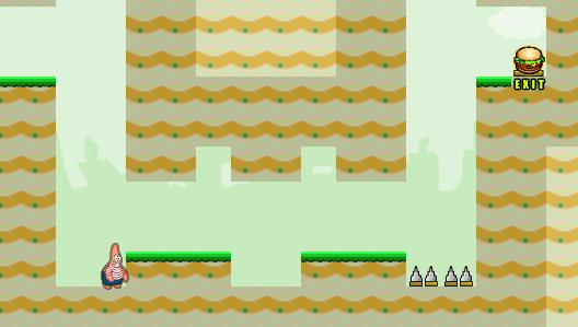 Play Patrick Gravity Adventure Game