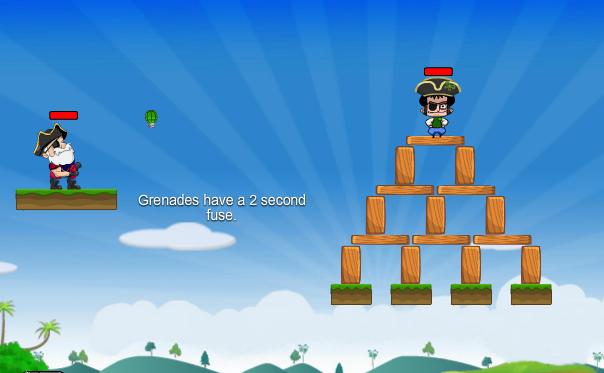 Play Super Pirate Adventure Game