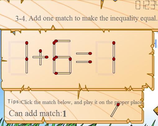 Play Match Math Game