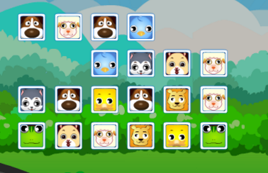 Play Animals Connect 3 Game