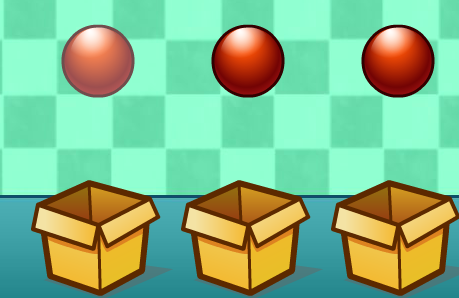 Play Balls and Boxes Game