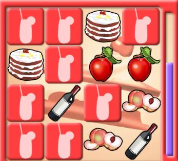 Play Food Memory Game Game