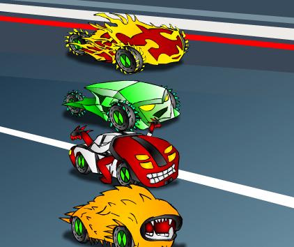 Play Ben 10 math race Game