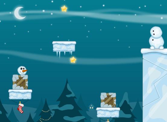 Play Snowmans Adventure Game