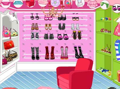 Play Decorate your walk in closet 2 Game