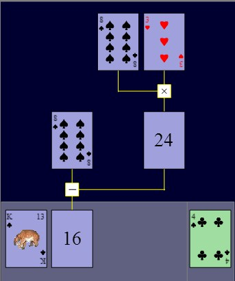 Play Math Solitaire Game
