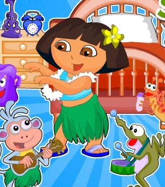 Play Dora Summer Room Decor Game