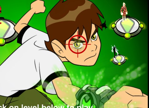 Play Ben 10 Addition Game