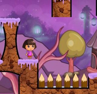 Play Dora Candyland Game