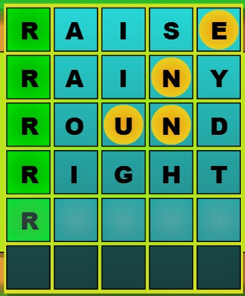 Play Guess 5 Game