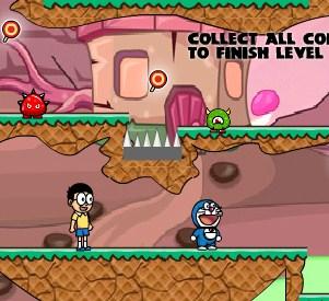 Play Doraemon Candyland Game
