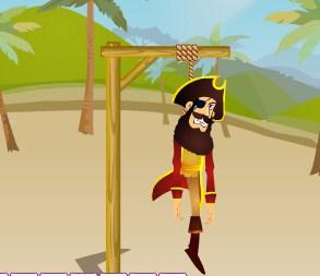 Play Hangman Pirate Game