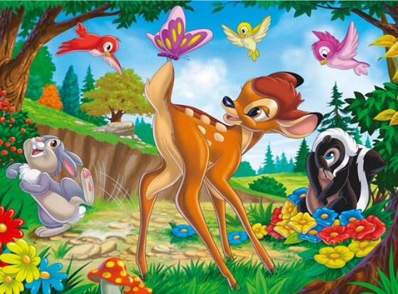Play Bambi Jigsaw Game