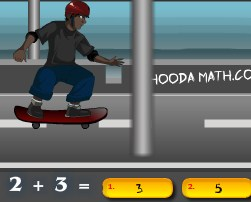 Play Skater Math Game