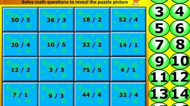 Play Dora division puzzle Game