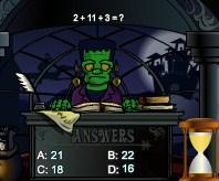 Play Frankenstein Math Game