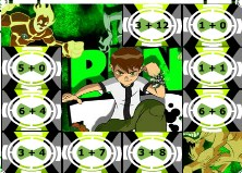 Play Ben 10 Addition Puzzle Game
