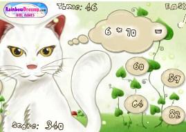 Play Cat Math Game