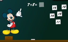 Play Mickey Mouse Math 1 Game