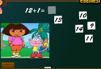 Play Dora Math Game
