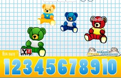 Play Kids Counting Teddy Bears Game