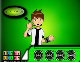 Play Ben 10 Mathrix Game