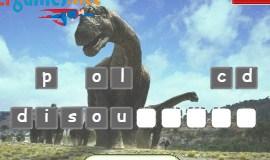 Play Dinosaurs Word Scramble Game