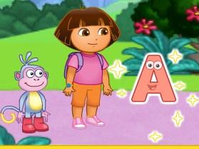 Play Dora Alphabet Forest Adventure Game