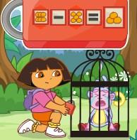 Play Dora And Mermaid Birthday Game