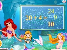 Play Ariel Underwater School Game