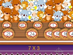 Play Multiplication Gallery Game